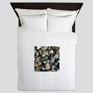 Polished pebbles Queen Duvet