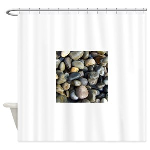 Pebble Beach Shower Curtains