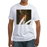 Red Dragonfly Fitted T-Shirt