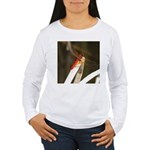 Red Dragonfly Women's Long Sleeve T-Shirt