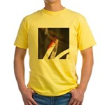 Red Dragonfly Yellow T-Shirt