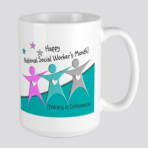 Happy social workers month 2 Mugs