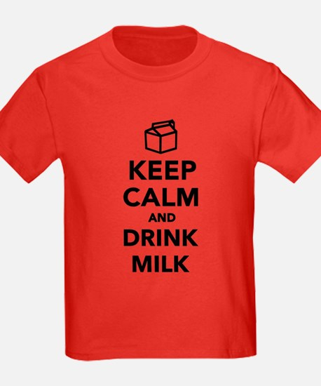 Keep calm and drink Milk T