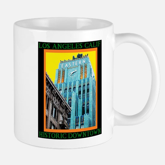 Historic Downtown Los A Stainless Steel Travel Mug