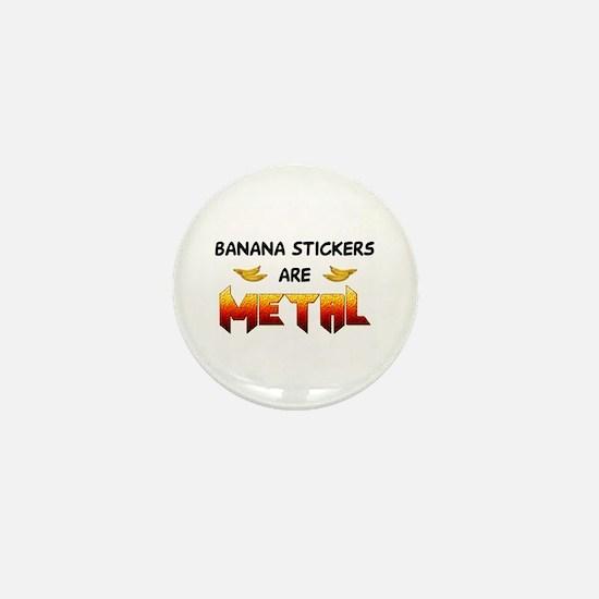 Banana Stickers 2.0 Mini Button
