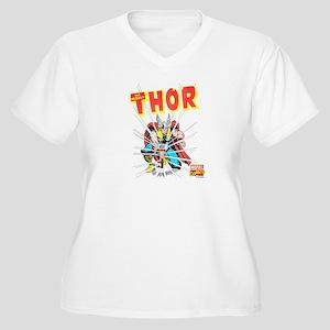 Thor Slam Women's Plus Size V-Neck T-Shirt