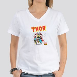 Thor Slam Women's V-Neck T-Shirt