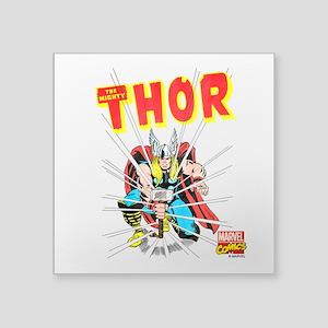 """Thor Slam Square Sticker 3"""" x 3"""""""