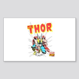 Thor Slam Sticker (Rectangle)
