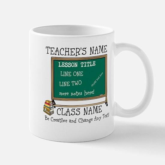 Teacher School Class Personalized Mugs