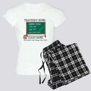 Teacher School Class Personalized Pajamas
