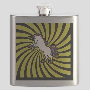 Retro Unicorn Flask