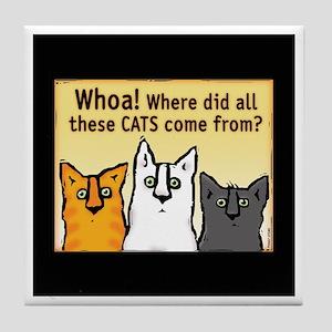 """""""Whoa!"""" Tile Coaster"""