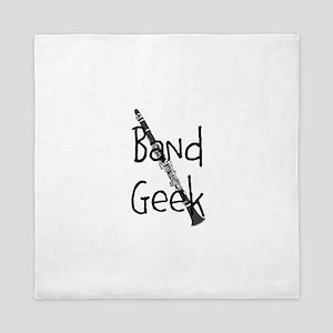 Band Geek Clarinet Queen Duvet