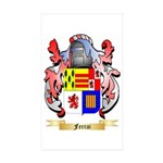 Ferrai Sticker (Rectangle 50 pk)