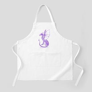 Purple Watcher Dragon Apron
