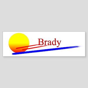 Brady Bumper Sticker