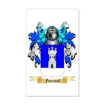 Fourtoul 35x21 Wall Decal