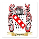 Fouqueret Square Car Magnet 3