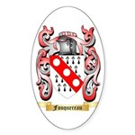 Fouquereau Sticker (Oval 50 pk)