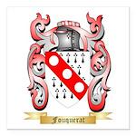 Fouquerat Square Car Magnet 3