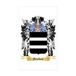 Foulkes Sticker (Rectangle 10 pk)