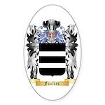 Foulkes Sticker (Oval 10 pk)