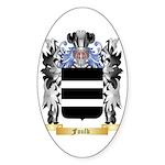 Foulk Sticker (Oval 50 pk)