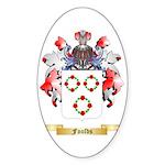 Foulds Sticker (Oval 50 pk)