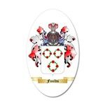 Foulds 35x21 Oval Wall Decal
