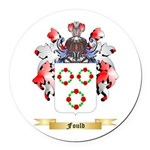Fould Round Car Magnet