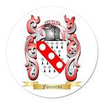 Foucresu Round Car Magnet