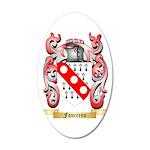 Foucresu 35x21 Oval Wall Decal