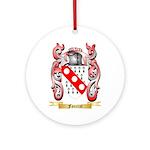 Foucrat Ornament (Round)