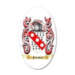 Fouchier 20x12 Oval Wall Decal