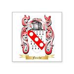 Fouche Square Sticker 3