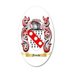 Fouche 20x12 Oval Wall Decal