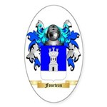 Fourteau Sticker (Oval 10 pk)