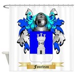 Fourteau Shower Curtain