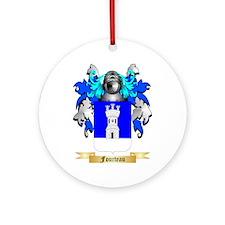 Fourteau Ornament (Round)