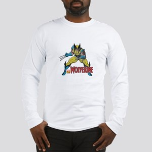 Vintage Wolverine Long Sleeve T-Shirt