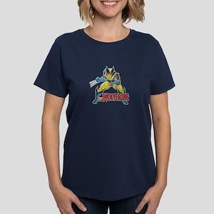 Vintage Wolverine Women's Dark T-Shirt