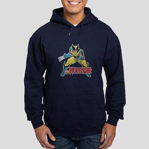 Vintage Wolverine Hoodie (dark)