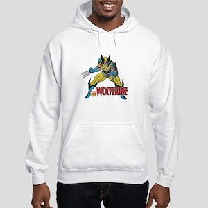 Vintage Wolverine Hooded Sweatshirt