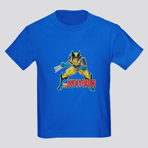 Vintage Wolverine Kids Dark T-Shirt