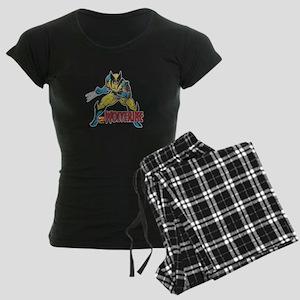 Vintage Wolverine Women's Dark Pajamas