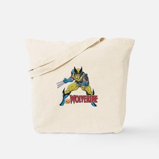 Vintage Wolverine Tote Bag