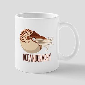 Oceanography Mugs