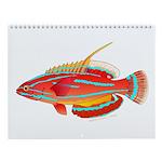 Tropical Reef Fish 12 Wall Calendar