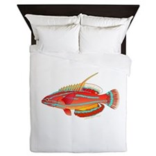 McCoskers flasher wrasse Queen Duvet